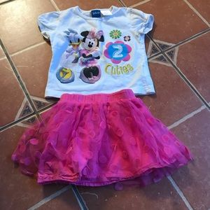 Disney Outfit Minnie and Daisy